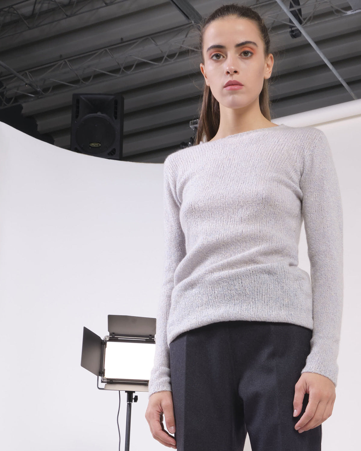 Dadà - Seamless crew neck - Grey