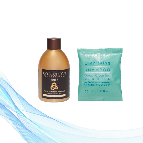 Cocochoco GOLD 250 ml + Clarifying šampon 50 ml