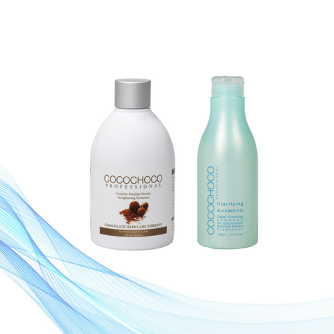 Cocochoco ORIGINAL 250 ml + Clarifying šampon 400 ml