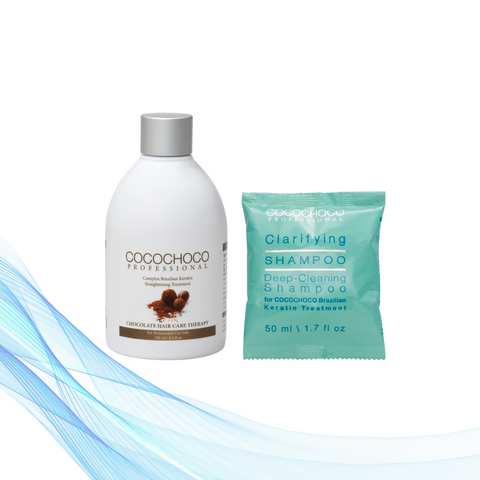 Cocochoco ORIGINAL 250 ml + Clarifying šampon 50 ml