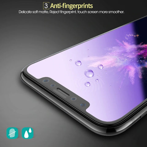 Hotomoto: anti fingerprint, smooth tuch temperglass