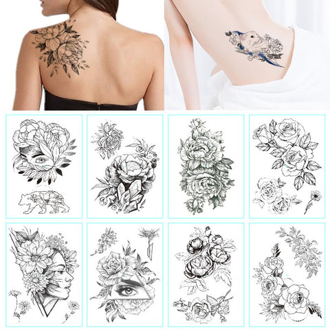 Hotomoto temporary tattoo custom