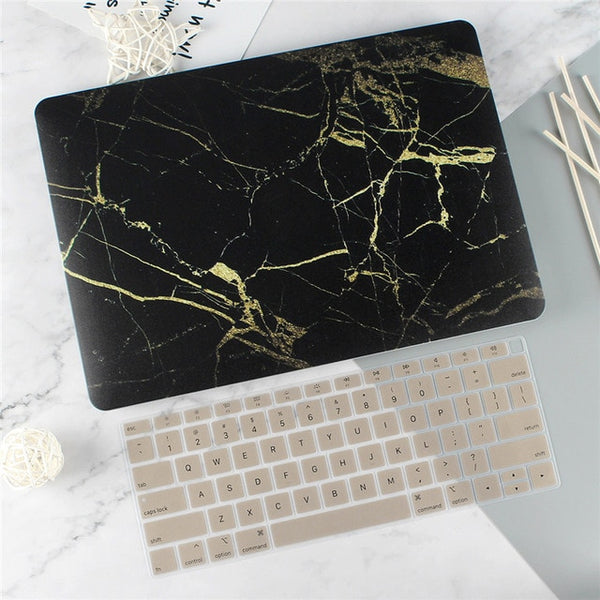"Rubberized Matte Laptop Case Cover for Macbook Air 13 Mac Book 2019 Retina Pro 13 15"" Touch bar A1989 A1990+Keyboard Cover"