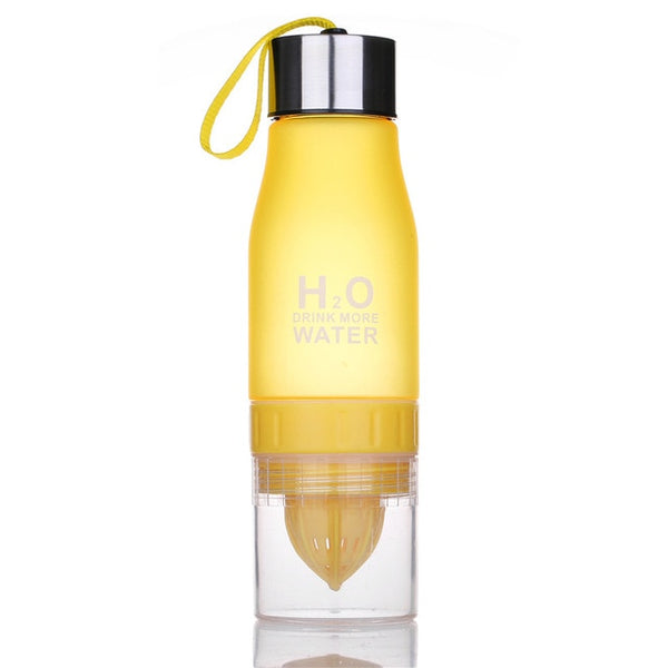 Lemon Juice Water Bottle Fruit Infuser Drinkware For Outdoor Sports My Shaker Bottle BPA Free
