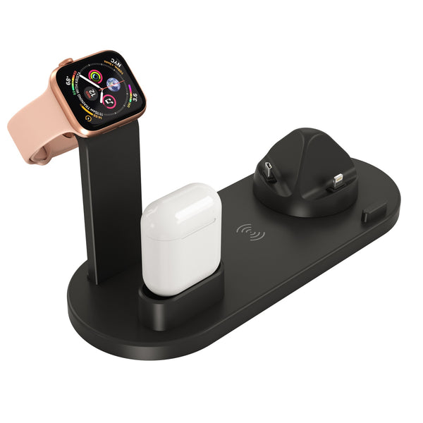 3 In 1 Wireless Charging Dock For Multiple Devices For Apple Watch And Airpods Charging Station Wireless Charger