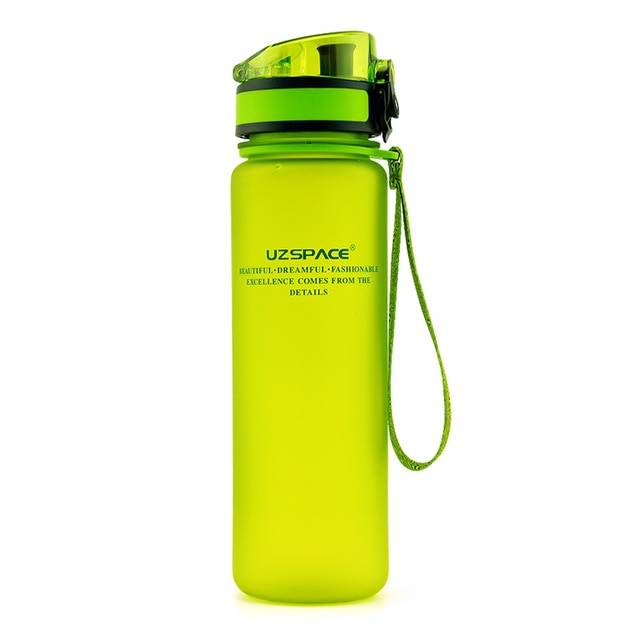Explosion Sports Water Bottles 500ML 1L Protein Shaker Outdoor Travel Portable Leakproof Tritan plastic My Drink Bottle BPA Free