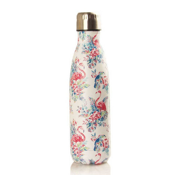500ml Insulated Water Bottle Printing Pattern Stainless Steel Double Walled Travel Water Bottle Portable Leakproof Thermo Bottle