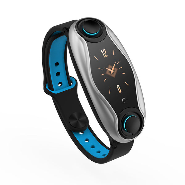 Hotomoto: 2 in 1 waterproof smart watch with bluetooth earphones-multifunction
