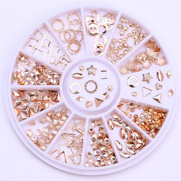 Mixed Color Nail Rhinestones Stones AB Color Rhinestone Irregular Beads Manicure For Nails Art Decorations Crystals Accessories