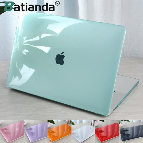 Crystal Transparent Hard Case Protect For Macbook Air Retina Pro 13 15 16 Touch Bar A2141 A2159 A1706 A1990 AIR 13 2019 A1932