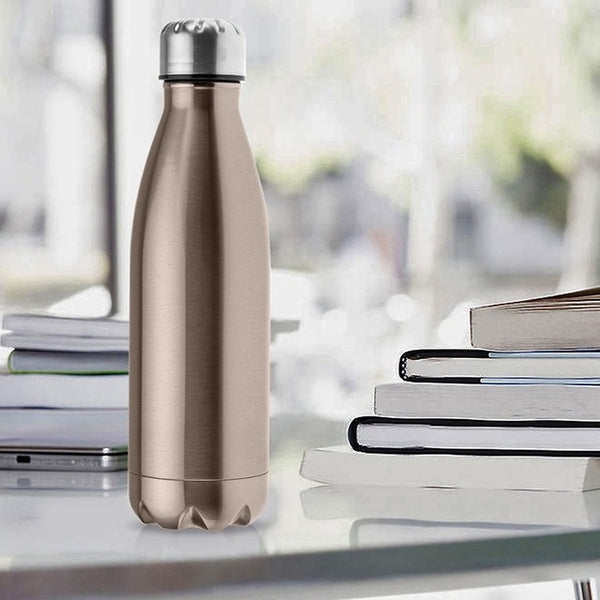 500ML My Bottle Double Insulation 304 Stainless Steel Water Bottle Sport Thermal Insulation Drink Bottle Kids Drinking Drinkware