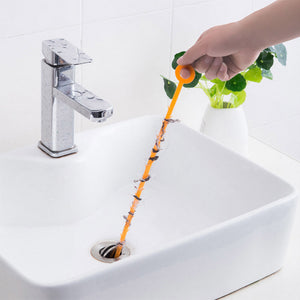 Bathroom Dredge Sewer Device Filter Drain Cleaners House Drain Sink Clear Bathroom Sewer Locks Avoid Sink Clean Hooks Cleaning