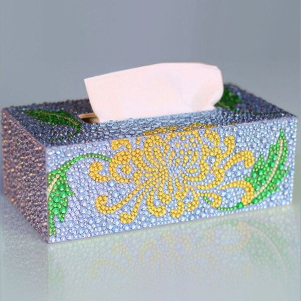 Special Shape Diamond Painting DIY Roll Tissue Box Jewelry Storage Cross Stitch High Quality and Brand New