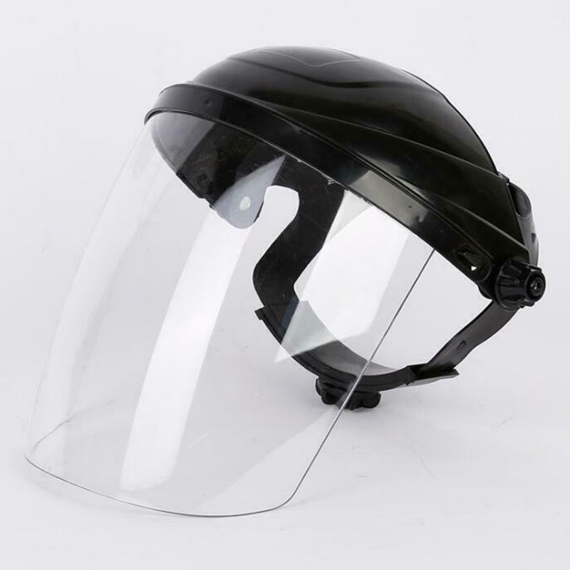 1 Pc Clear Safety Face Shield Full Face Cover Protective Film Tool Anti-droplets Splash-proof  Windproof