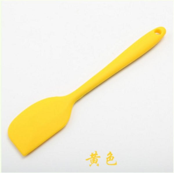 Kitchen Silicone Cream Butter Cake Spatula Mixing Batter Scraper Brush Butter Mixer Cake Brushes Baking Tool Kitchenware