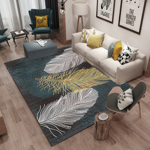 Nordic minimalist style carpet modern geometric abstract living room decorate  Rugs table pad Household bedroom bed mat Carpets
