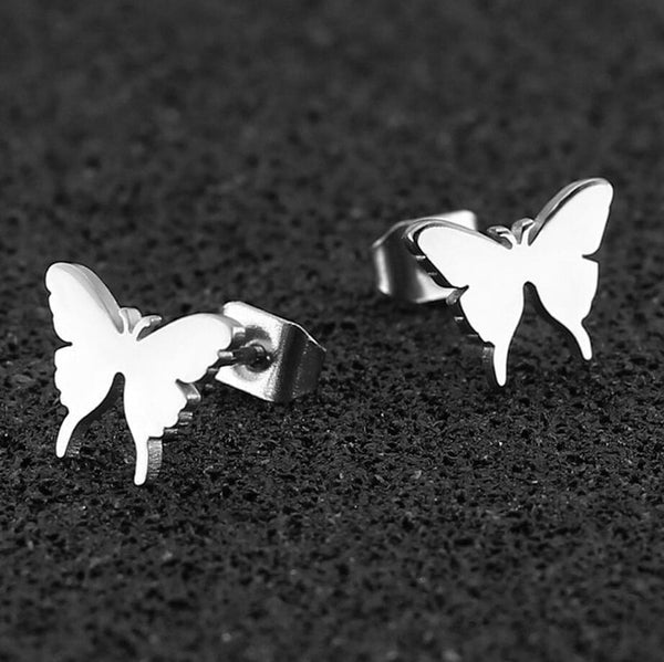 Hotomoto: Cute Stainless Steel Stud Earrings for Women,gold earrings designs for daily use
