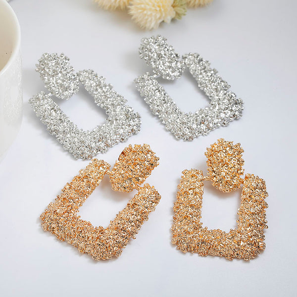 Hotomoto: Vintage Earrings For Women Gold Color