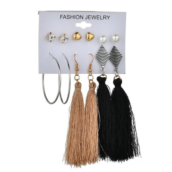 Hotomoto: new look earrings tassel earrings