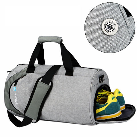 Waterproof sport bags men Large Gym bag with shoe compartment 2019 sac de Women yoga fitness bag Outdoor travel hand luggage bag