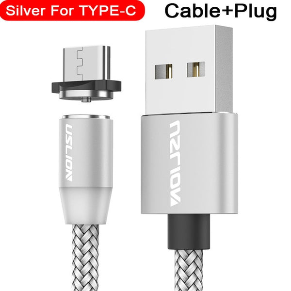 Magnetic USB Cable Fast Charging USB Cable Magnet Charger Data Charge Micro USB Cable Mobile Phone Cable USB Cord