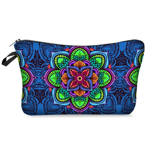 Hotomoto: Floral Printing Makeup Bags and With Multicolor Pattern makeup bags for travel