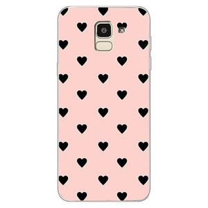 Couples Love Heart Pink Case For Samsung Galaxy