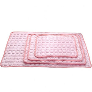 Dog Mat Ice Pad Ice Silk Cool Pet Beds Sofa Cushion Fit All Pet Puppy Cat Summer Cooling Mat