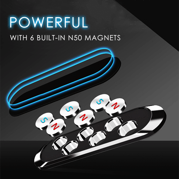 Magnetic Car Phone Holder Strip
