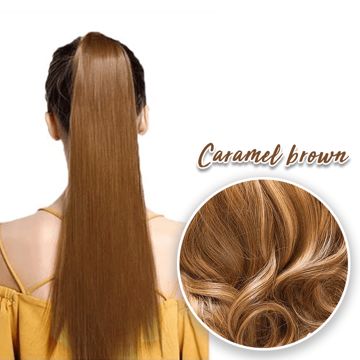 Easy Claw-on Straight Ponytail