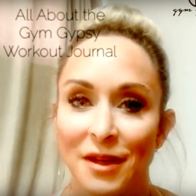 Record ALL the Details with Gym Gypsy Workout Journal!