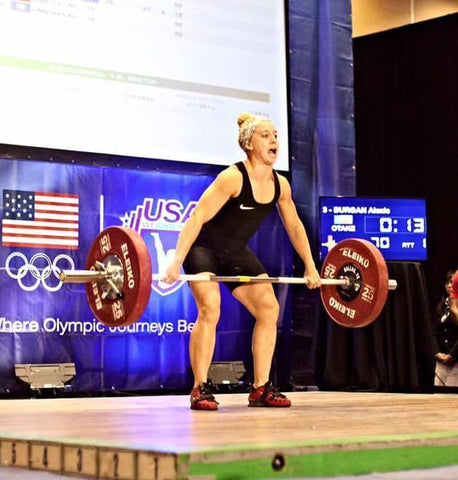 Alexis Burgan - American Weightlifting Open 2015