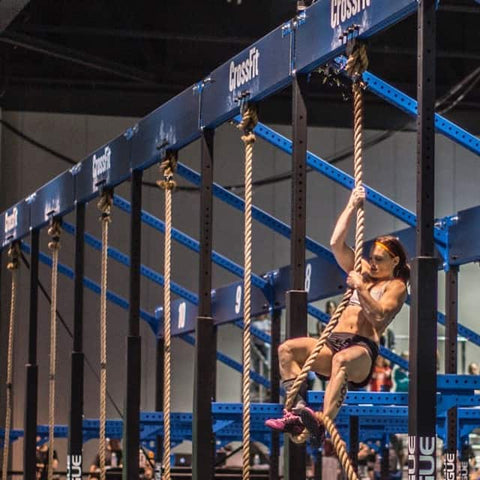 CrossFit Games Pamela Gagnon Rope Climbs