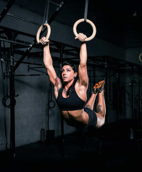 Kat Leone Ring Muscle Up