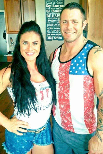 Lauren Brooks and her husband