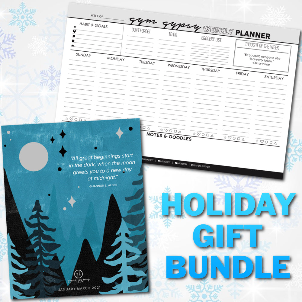 Desktop Planner and Journal Gift Bundle
