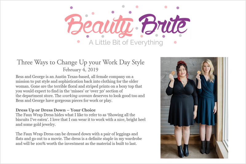Beauty Brite:  Three Ways to Change Up Your Work Day Style