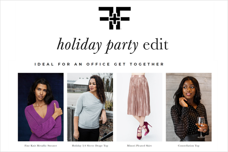 Fit + Flatter Holiday Party Edit
