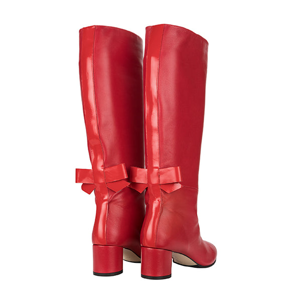 BOWIE BOOT red