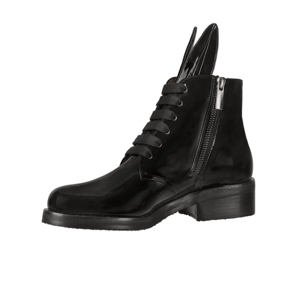 BUNNY BOOT black patent
