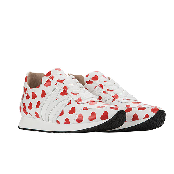 BUNNY RUNNER red hearts