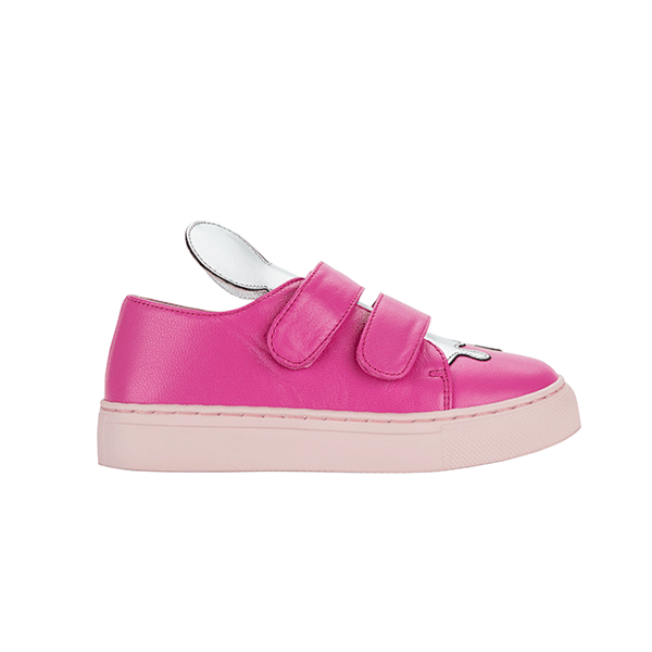 JERRY MINI fuchsia-silver