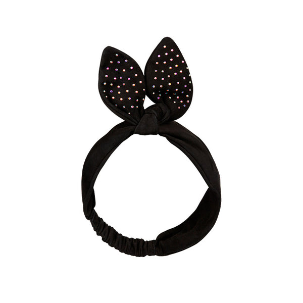 LUELLA BAND black suede-crystals
