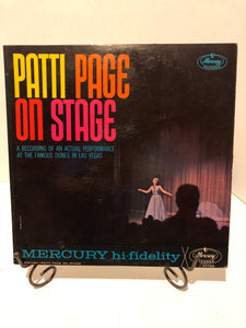 Patti Page on Stage