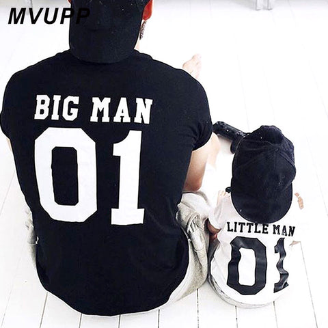 * Daddy & Me- Big/Little Man Tee