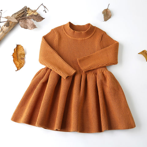 * Knit Sweater Dress