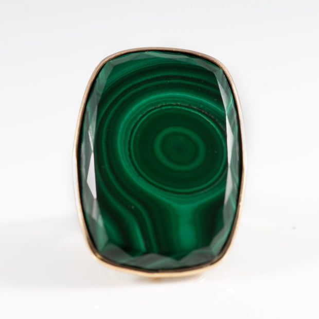 Green Malachite Ring