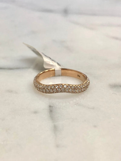 Rose Gold Tracer Band