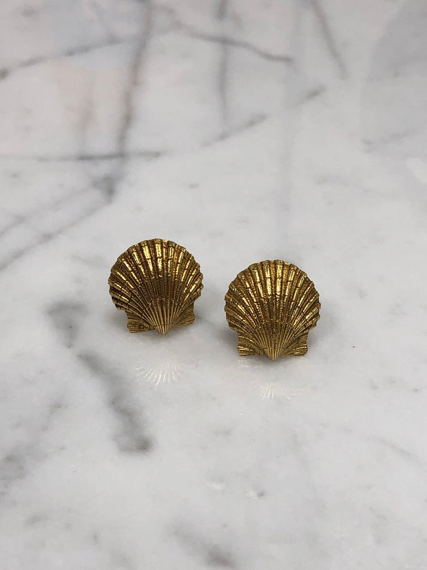Tiffany & Co. (Schlumberger) Scallop Shell Earclips
