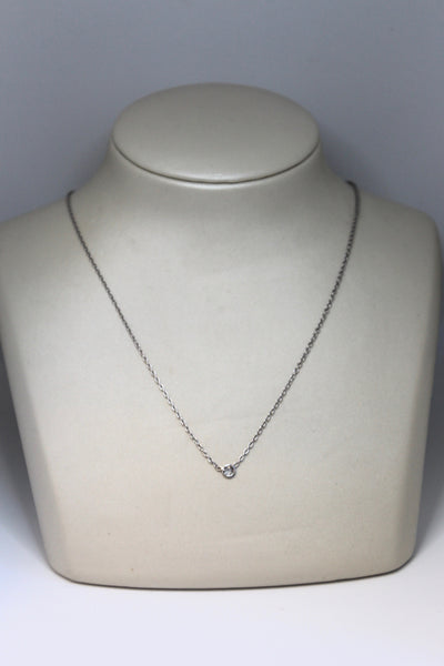 Round Diamond Necklace